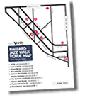 2016 Jazz Walk Map