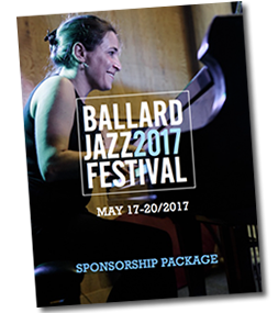 2017 Ballard Jazz Festival Sponsorship Package
