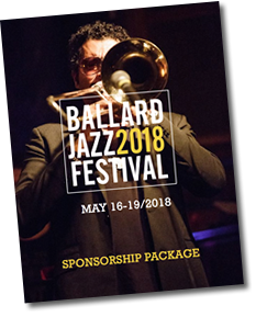 2018 Ballard Jazz Festival Sponsorship Package