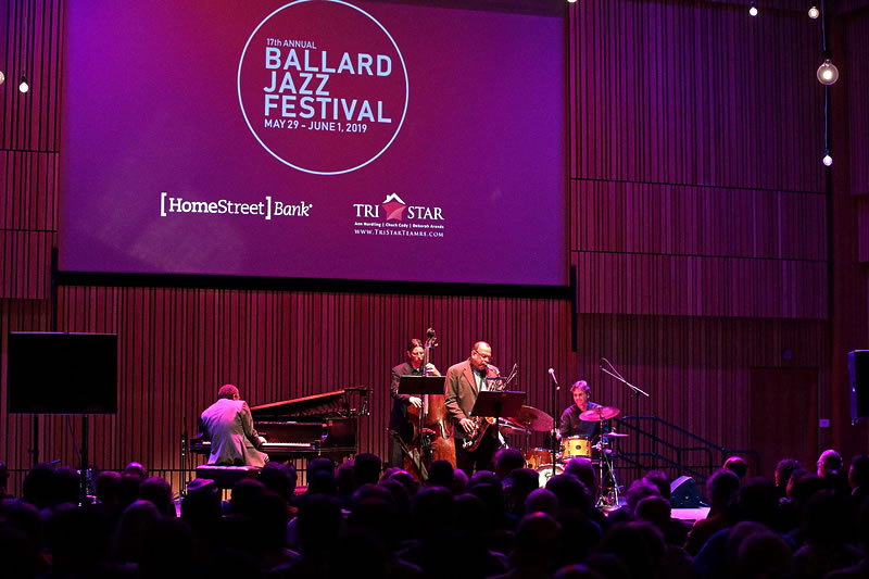 The Ballard Jazz Festival: May 29 - June 1, 2019